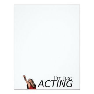 TEE This Just Acting Card