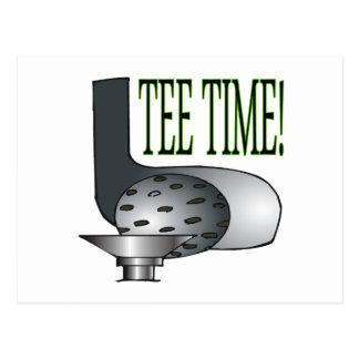 Tee Time 2 Postcard