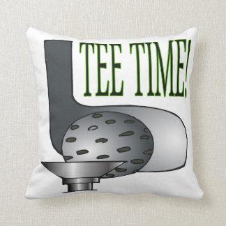 Tee Time 2 Throw Pillow