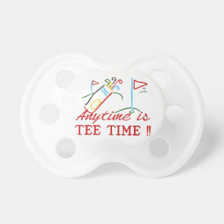 Tee Time BooginHead Pacifier