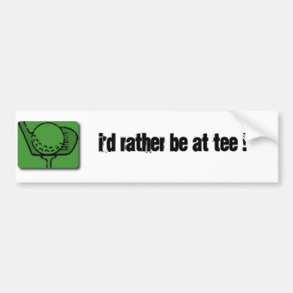TEE TIME BUMPER STICKERS