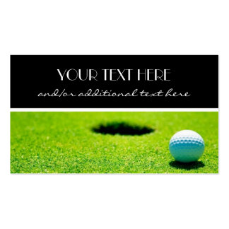 Tee Time Business Card