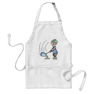 Tee time!  Customizable! Adult Apron