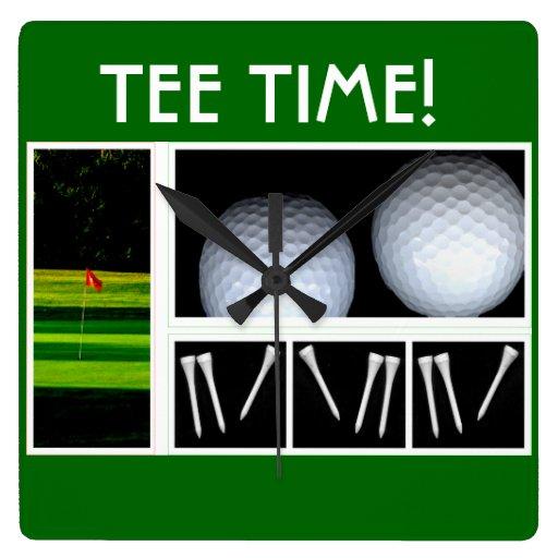 Tee Time golf clock