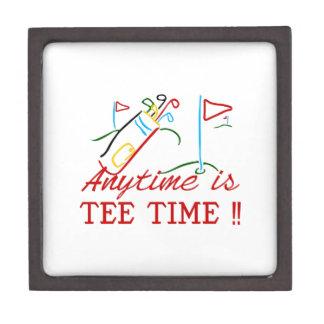 Tee Time Jewelry Box