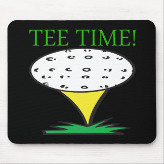 Tee Time Mouse Pads