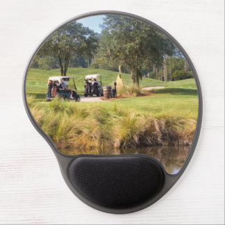 Tee Time on the Golf Course Gel Mouse Pad