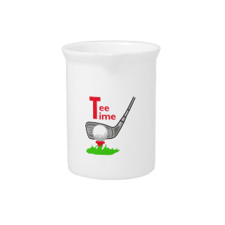 Tee Time Beverage Pitchers