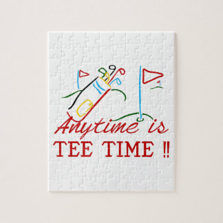 Tee Time Puzzle