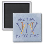 Tee Time Refrigerator Magnets