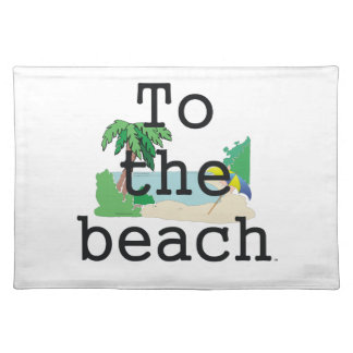 TEE To The Beach Placemat