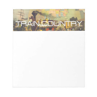 TEE Train Country Notepad