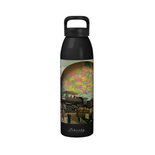 TEE Transportation Reusable Water Bottle