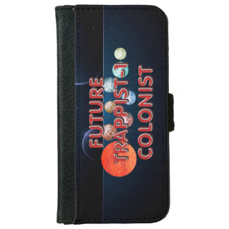 TEE Trappist-1 Colonist Wallet Phone Case For iPhone 6/6s