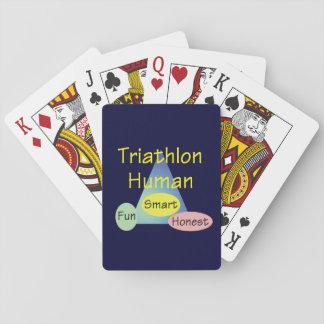 TEE Triathlon Human Card Deck
