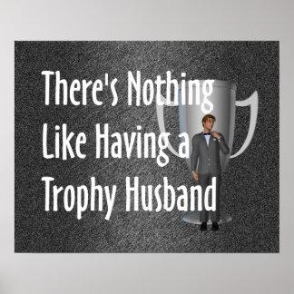 TEE Trophy Husband Poster