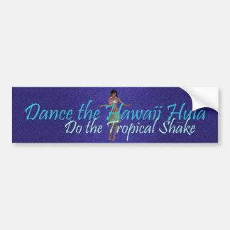TEE Tropical Shake Bumper Sticker