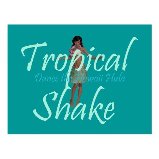 TEE Tropical Shake Postcard