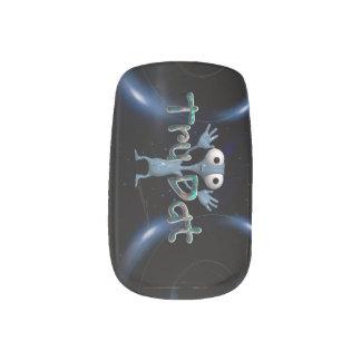 TEE Tru Dat Alien Minx® Nail Wraps