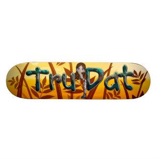 TEE Tru Dat Girl Skateboard Deck