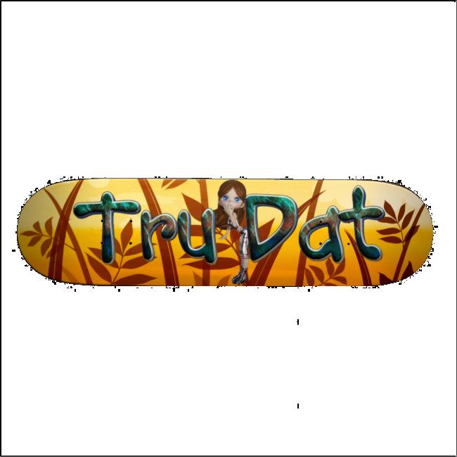 TEE Tru Dat Girl Skateboards