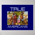 TEE True Americans Posters