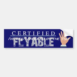 TEE TSA Slogan Bumper Stickers