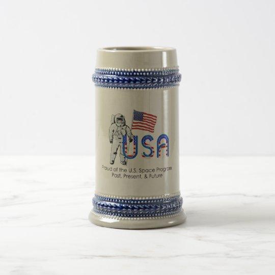 TEE U.S. Space Program Beer Stein