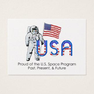 TEE U.S. Space Program Business Card