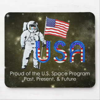 TEE U.S. Space Program Mouse Pad