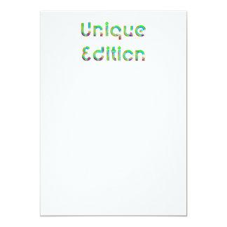 TEE Unique Edition Card