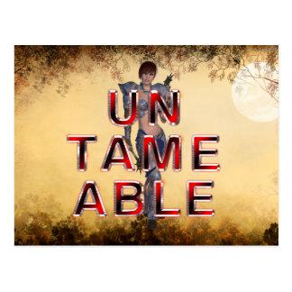 TEE Untameable Postcard