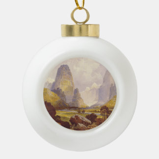 TEE Utah Canyons Ceramic Ball Christmas Ornament