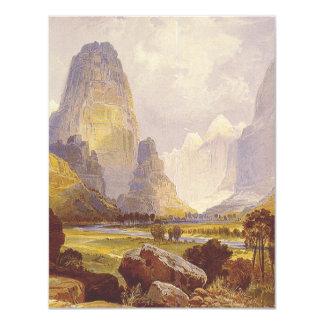 TEE Utah Canyons 4.25x5.5 Paper Invitation Card