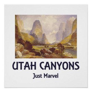 TEE Utah Canyons Poster