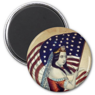 TEE Value Liberty 2 Inch Round Magnet