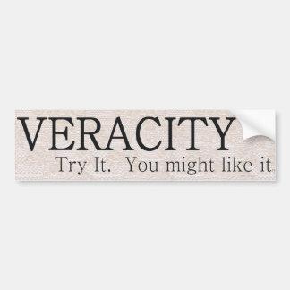 TEE Veracity Bumper Sticker