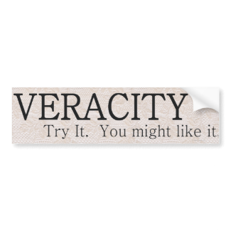 TEE Veracity Car Bumper Sticker