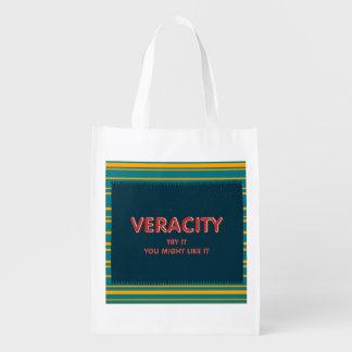 TEE Veracity Reusable Grocery Bag