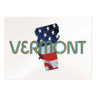 TEE Vermont Patriot Large Business Card