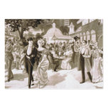 TEE Victorian Days Large Business Cards (Pack Of 100)