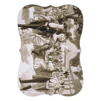 TEE Victorian Days Custom Invites