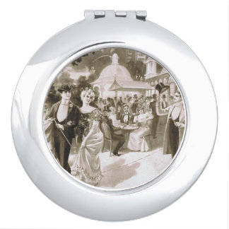 TEE Victorian Days Mirror For Makeup