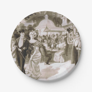 TEE Victorian Days Paper Plate