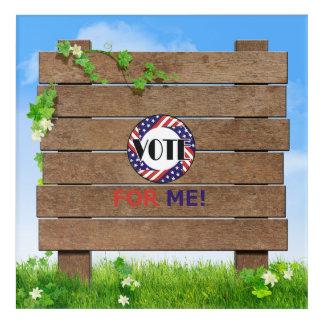 TEE Vote for Me Acrylic Print