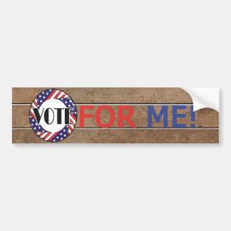 TEE Vote for Me Bumper Sticker