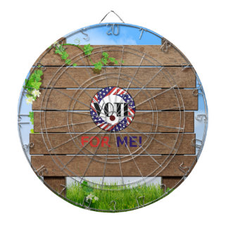 TEE Vote for Me Dart Board