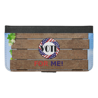 TEE Vote for Me iPhone 6/6s Plus Wallet Case