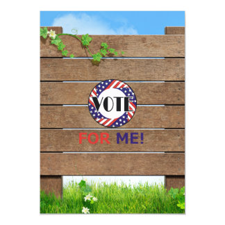TEE Vote for Me Magnetic Card