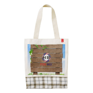 TEE Vote for Me Zazzle HEART Tote Bag